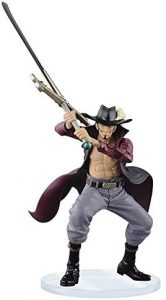 Figura de Dracule Mihawk de One Piece de Banpresto 2 - Muñecos de Dracule Mihawk - Figuras coleccionables del anime de One Piece