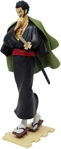Figura de Dracule Mihawk de One Piece de Banpresto 3 - Muñecos de Dracule Mihawk - Figuras coleccionables del anime de One Piece