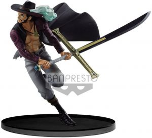 Figura de Dracule Mihawk de One Piece de Banpresto 4 - Muñecos de Dracule Mihawk - Figuras coleccionables del anime de One Piece