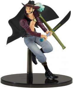 Figura de Dracule Mihawk de One Piece de Banpresto - Muñecos de Dracule Mihawk - Figuras coleccionables del anime de One Piece
