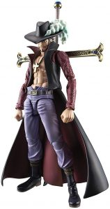 Figura de Dracule Mihawk de One Piece de Megahouse - Muñecos de Dracule Mihawk - Figuras coleccionables del anime de One Piece