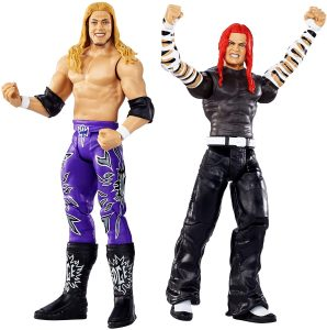 Figura de Edge y Jeff Hardy de Mattel - Muñecos de Edge - Figuras coleccionables de luchadores de WWE