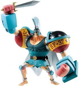 Figura de Franky de Bandai 2 - Muñecos de Franky - Figuras coleccionables del anime de One Piece