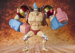 Figura de Franky de Bandai - Muñecos de Franky - Figuras coleccionables del anime de One Piece