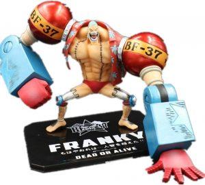 Figura de Franky de One Piece de Jaypar - Muñecos de Franky - Figuras coleccionables del anime de One Piece