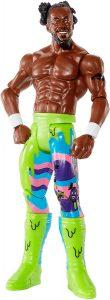 Figura de Kofi Kingston de FMD - Muñecos de The New Day - Figuras coleccionables de luchadores de WWE