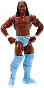 Figura de Kofi Kingston de Mattel - Muñecos de The New Day - Figuras coleccionables de luchadores de WWE