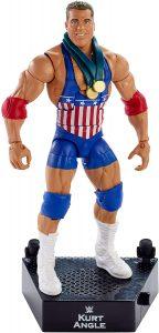 Figura de Kurt Angle de Mattel 2 - Muñecos de Kurt Angle - Figuras coleccionables de luchadores de WWE