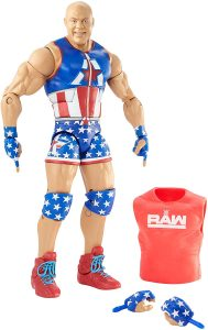 Figura de Kurt Angle de Mattel - Muñecos de Kurt Angle - Figuras coleccionables de luchadores de WWE