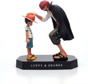 Figura de Luffy y Shanks de One Piece de Polyer - Muñecos de Luffy - Figuras coleccionables del anime de One Piece