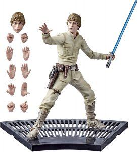 Figura de Luke Skywalker de The Black Series - Figuras de acción y muñecos de Luke Skywalker de Star Wars