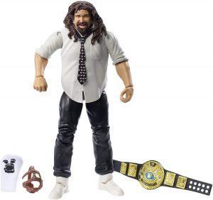 Figura de Mankind de Mattel 2 - Muñecos de Mick Foley - Figuras coleccionables de luchadores de WWE
