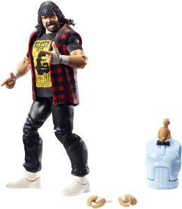 Figura de Mick Foley de Mattel - Muñecos de Mick Foley - Figuras coleccionables de luchadores de WWE