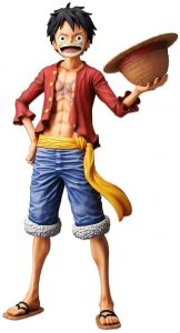 Figura de Monkey D. Luffy de One Piece de Bandai - Muñecos de Luffy - Figuras coleccionables del anime de One Piece