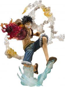 Figura de Monkey D. Luffy de One Piece de Bandai Tamashii Nations - Muñecos de Luffy - Figuras coleccionables del anime de One Piece