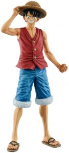 Figura de Monkey D. Luffy de One Piece de Banpresto 20 Aniversario - Muñecos de Luffy - Figuras coleccionables del anime de One Piece