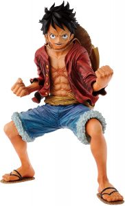 Figura de Monkey D. Luffy de One Piece de Banpresto 7 - Muñecos de Luffy - Figuras coleccionables del anime de One Piece
