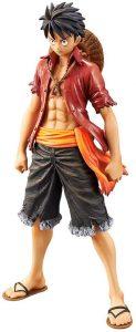 Figura de Monkey D. Luffy de One Piece de Banpresto Unico - Muñecos de Luffy - Figuras coleccionables del anime de One Piece