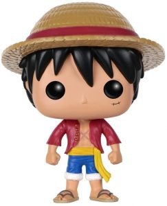 Figura de Monkey D. Luffy de One Piece de FUNKO POP - Muñecos de Luffy de One Piece - Figuras coleccionables del anime de One Piece