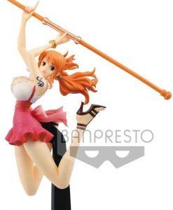 Figura de Nami de One Piece de Banpresto 2 - Muñecos de Nami - Figuras coleccionables del anime de One Piece