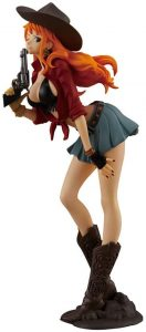 Figura de Nami de One Piece de Banpresto Treasure - Muñecos de Nami - Figuras coleccionables del anime de One Piece