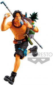 Figura de Portgas D. Ace de One Piece de Banpresto - Muñecos de Portgas D. Ace - Figuras coleccionables del anime de One Piece