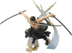 Figura de Roronoa Zoro de One Piece de BANDAI 2 - Muñecos de Zoro - Figuras coleccionables del anime de One Piece