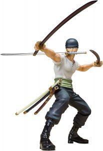 Figura de Roronoa Zoro de One Piece de Bandai 4 - Muñecos de Zoro - Figuras coleccionables del anime de One Piece