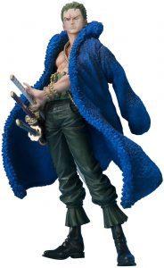 Figura de Roronoa Zoro de One Piece de Bandai - Muñecos de Zoro - Figuras coleccionables del anime de One Piece