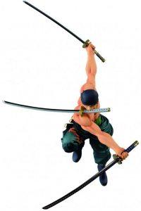 Figura de Roronoa Zoro de One Piece de Bandai Spirits Ichibansho - Muñecos de Zoro - Figuras coleccionables del anime de One Piece