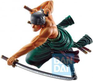 Figura de Roronoa Zoro de One Piece de Banpresto 3 - Muñecos de Zoro de One Piece - Figuras coleccionables del anime de One Piece