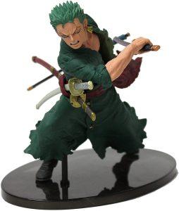 Figura de Roronoa Zoro de One Piece de Banpresto 4 - Muñecos de Zoro - Figuras coleccionables del anime de One Piece