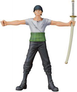 Figura de Roronoa Zoro de One Piece de Dramatic Showcase - Muñecos de Zoro - Figuras coleccionables del anime de One Piece