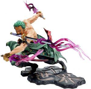Figura de Roronoa Zoro de One Piece de GUANGHHAO - Muñecos de Zoro de One Piece - Figuras coleccionables del anime de One Piece