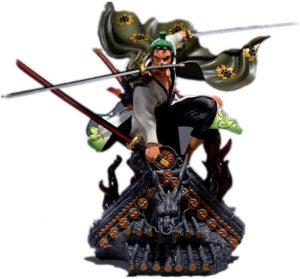 Figura de Roronoa Zoro de One Piece de Jaypar - Muñecos de Zoro - Figuras coleccionables del anime de One Piece
