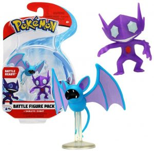 Figura de Sableye y Zubat de Battle Pokemon - Muñecos de Sableye - Figuras coleccionables de Pokemon
