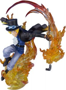 Figura de Sabo de One Piece de Bandai Tamashii Nations - Muñecos de Sabo - Figuras coleccionables del anime de One Piece
