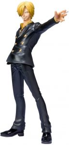 Figura de Sanji de One Piece de Bandai Tamashii Nations 3 - Muñecos de Sanji - Figuras coleccionables del anime de One Piece