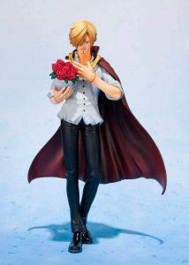 Figura de Sanji de One Piece de Bandai Tamashii Nations - Muñecos de Sanji - Figuras coleccionables del anime de One Piece