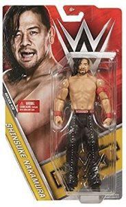 Figura de Shinsuke Nakamura de Mattel 2 - Muñecos de Shinsuke Nakamura - Figuras coleccionables de luchadores de WWE