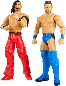 Figura de Shinsuke Nakamura y Finn Balor de Mattel - Muñecos de Shinsuke Nakamura - Figuras coleccionables de luchadores de WWE