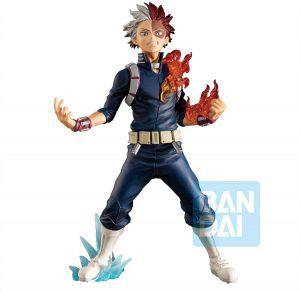 Figura de Shoto Todoroki de My Hero Academia de Bandai - Muñecos de Shoto Todoroki - Figuras coleccionables del anime de My Hero Academia