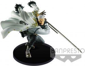 Figura de Smoker de One Piece de Banpresto - Muñecos de Smoker - Figuras coleccionables del anime de One Piece