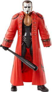 Figura de Sting de Mattel Elite - Muñecos de Sting - Figuras coleccionables de luchadores de WWE