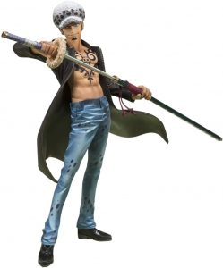 Figura de Trafalgar Law de One Piece de Bandai Tamashii Nations - Muñecos de Trafalgar Law - Figuras coleccionables del anime de One Piece
