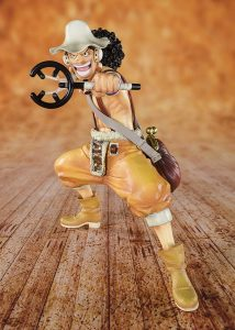 Figura de Usopp de One Piece de Bandai - Muñecos de Usopp - Figuras coleccionables del anime de One Piece