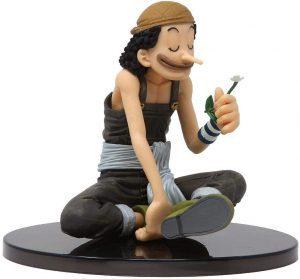 Figura de Usopp de One Piece de Banpresto - Muñecos de Usopp - Figuras coleccionables del anime de One Piece