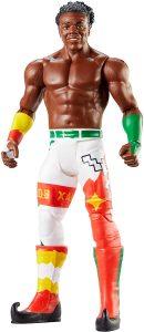 Figura de Xavier Woods de Mattel - Muñecos de The New Day - Figuras coleccionables de luchadores de WWE