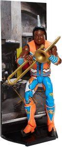 Figura de Xavier Woods de WWE - Muñecos de The New Day - Figuras coleccionables de luchadores de WWE