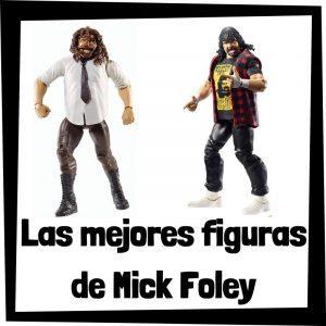 Figuras de colección de Mick Foley - Las mejores figuras de acción y muñecos de Mick Foley de WWE